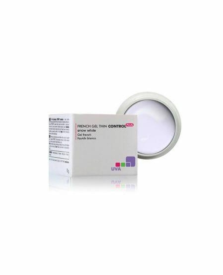 CONTROL PLUS™ Gel UV French densità medio-bassa Bianco Neve 5gr