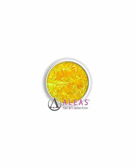 Fili scintillanti gialli