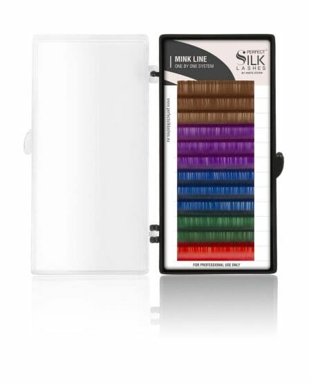 PSL™ Mink Lashes C.15 Fancy Color