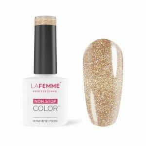 Smalto Semipermanente Bronzo Glitter Semi-coprente 67