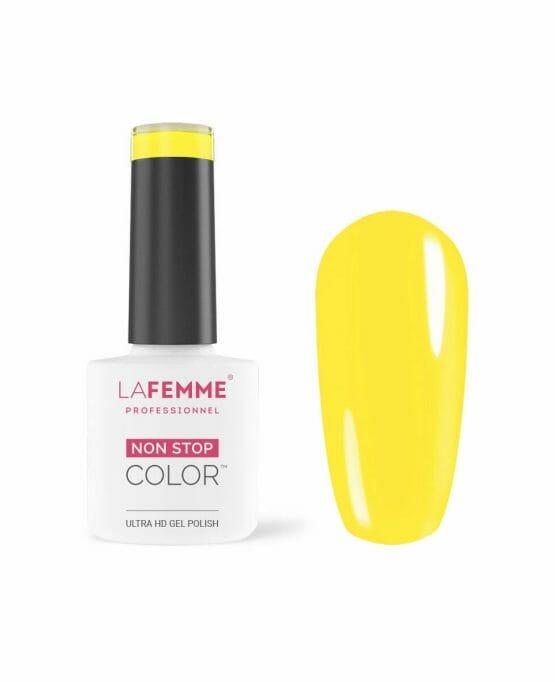 smalto gel semipermanente giallo coprente H012