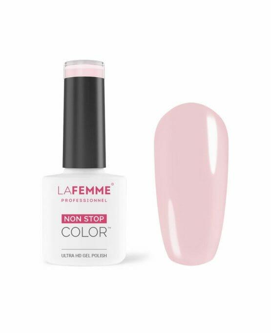 smalto semipermanente rosa french trasparente 137