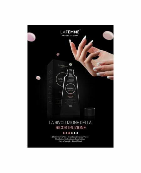 """Poster """"Spheric™ Acrylic Gel"""" - 50x70cm"""