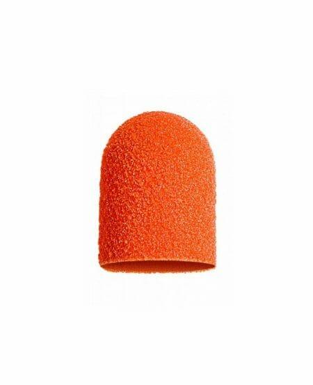 Cappucci Abrasivi Podo LUKAS 10mm - 150 grit grana media - 50pz Arancioni