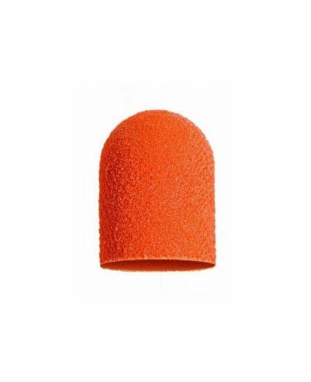 Cappucci Abrasivi Podo LUKAS 10mm - 320 grit grana fine - 50pz Arancioni