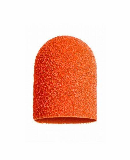 Cappucci Abrasivi Podo LUKAS 13mm - 150 grit grana media - 10pz Arancioni