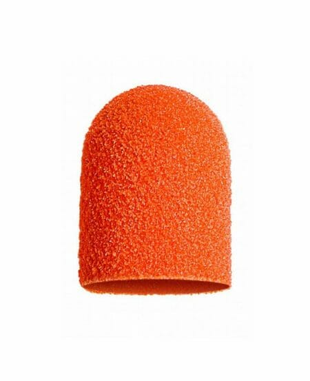 Cappucci Abrasivi Podo LUKAS 13mm - 150 grit grana media - 50pz Arancioni