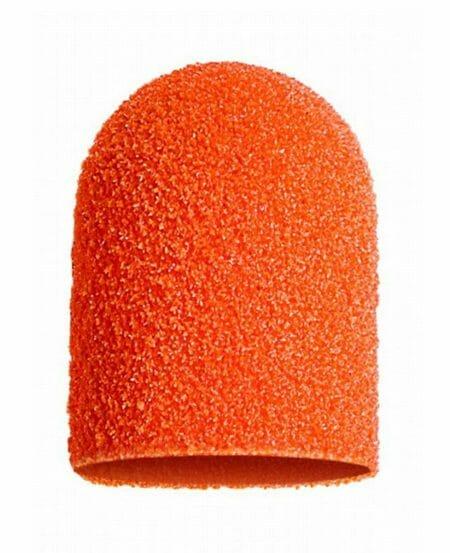 Cappucci Abrasivi Podo LUKAS 16mm - 150 grit grana media - 50pz Arancioni
