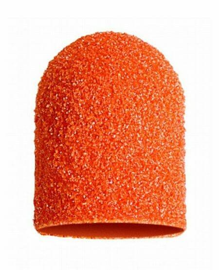 Cappucci Abrasivi Podo LUKAS 16mm - 80 grit grana grossa - 50pz Arancioni
