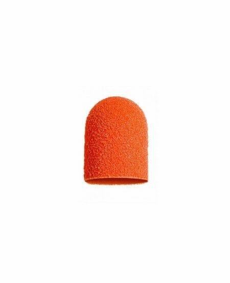 Cappucci Abrasivi Podo LUKAS 5mm - 150 grit grana media - 10pz Arancioni