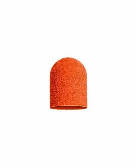 Cappucci Abrasivi Podo LUKAS 5mm - 320 grit grana fine - 50pz Arancioni