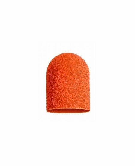 Cappucci Abrasivi Podo LUKAS 7mm - 320 grit grana fine - 10pz Arancioni
