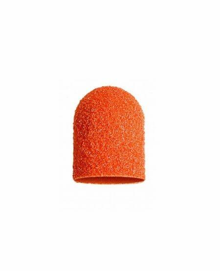 Cappucci Abrasivi Podo LUKAS 7mm - 80 grit grana grossa - 10pz Arancioni