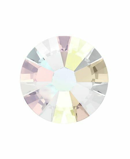 Swarovski Silver Opalescent (SS5 Crystal Aurore Boreale) - Argento Opalescente 50pz