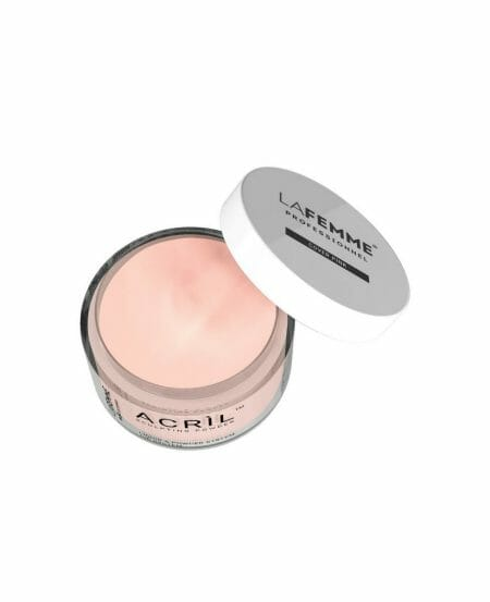 Acrilico unghie cover rosa