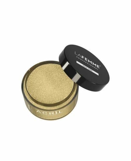 Acrìl™ Color Powder 18gr - Gold Sand - Clear & Glitter