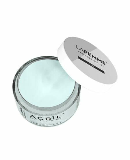 Polvere acrilica trasparente