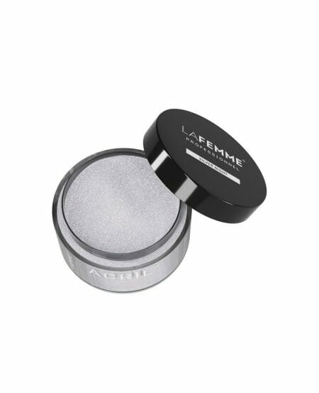 Acrìl™ Color Powder 18gr - Silver Night - Clear & Glitter
