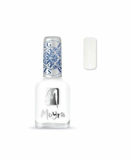 Moyra® Smalto per Stamping - SP07 WHITE 12ml