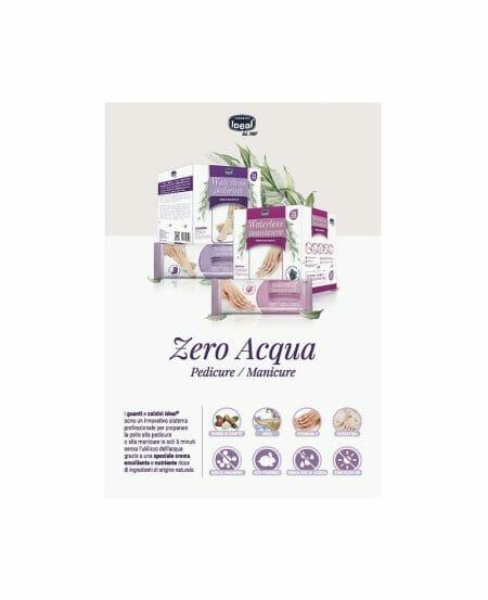 Brochure informativa Waterless Manicure/Pedicure IDEAL®