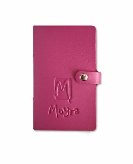 Cartellina porta MINI Piastre Stamping Moyra® - Rosa