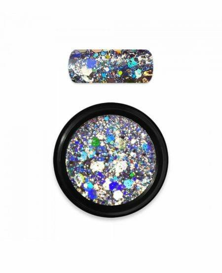 Holo Glitter Mix N.01 - Silver
