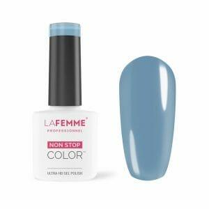 smalto gel color blue jeans La Femme