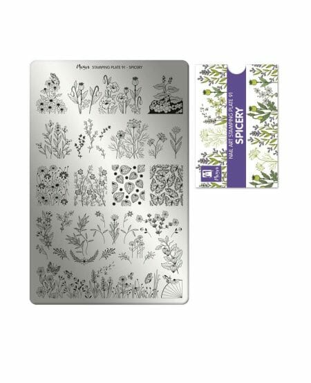 Piastra Stamping Moyra® 91 - Spicery - 9,5cm x 14,5cm