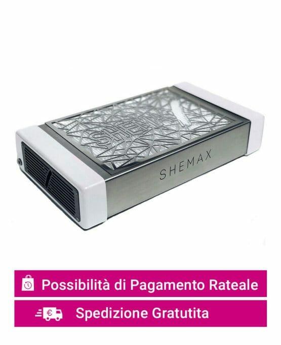 aspiratore da tavolo ricostruzione unghie SHEMAX PRO bianco pagamento rateale