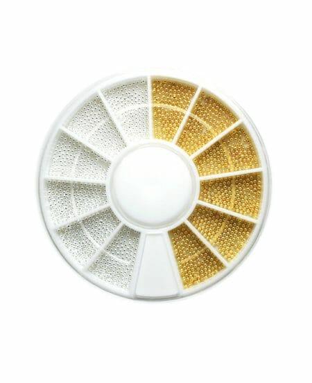 Ruota con microsfere misure miste - Oro e Argento
