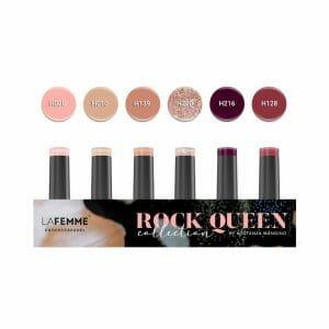 kappanailsdesigner kostanza kit collezione colore unghie -rock queen collection