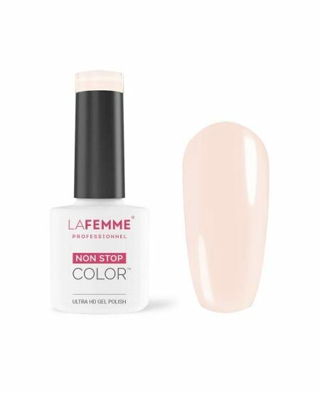 smalto semipermanente colore unghie rosa tenue h271
