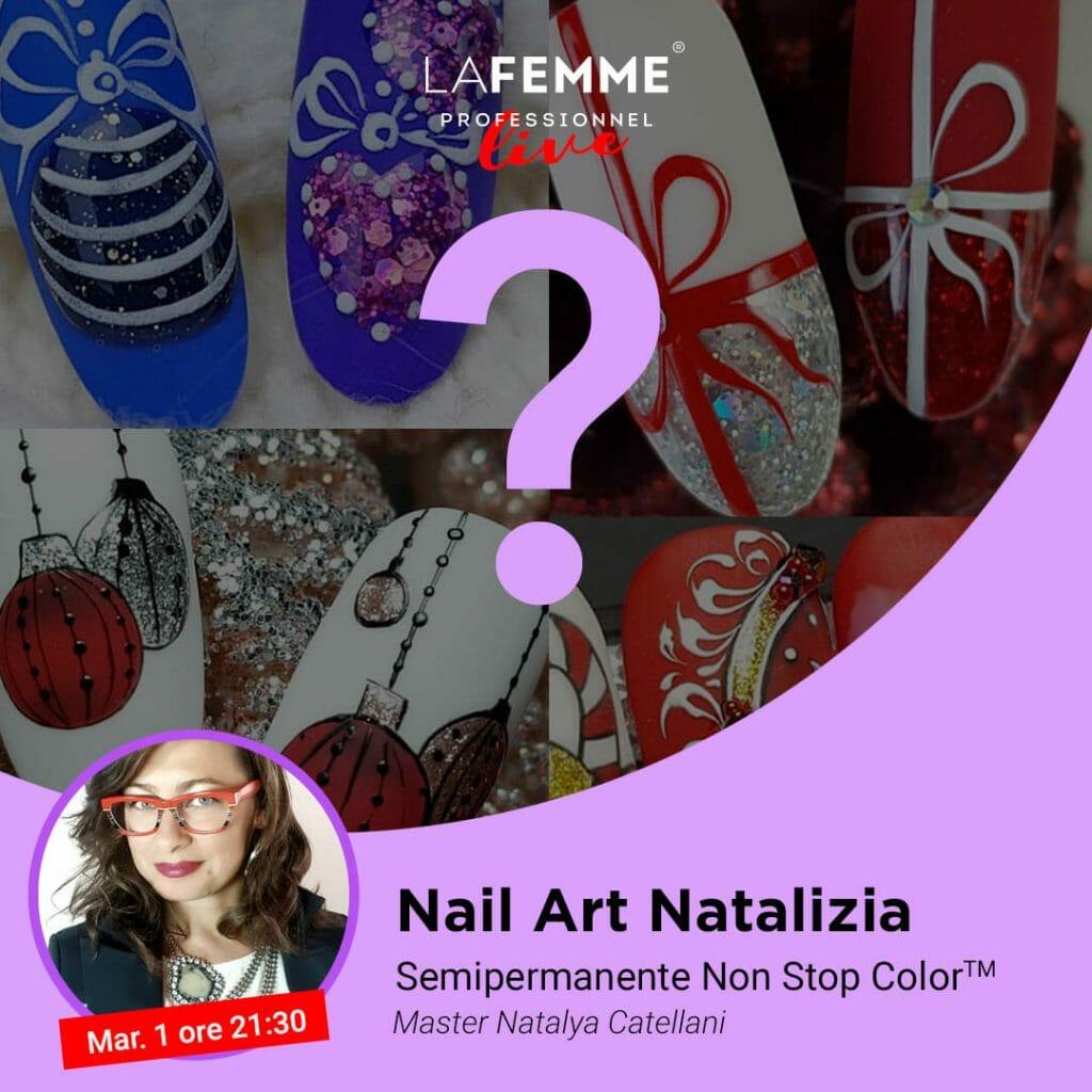 Nail Art Natale 2020 La Femme