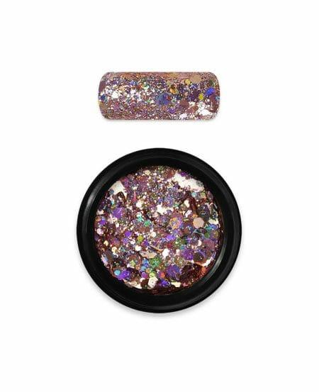 Holo Glitter Mix N.06 - Gold Rose