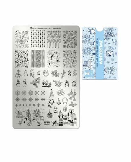 piastra stamping tema natale 2020 moyra 101