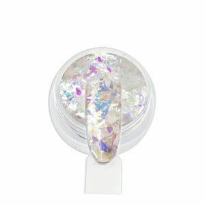 Glitter Flakes - Bianco