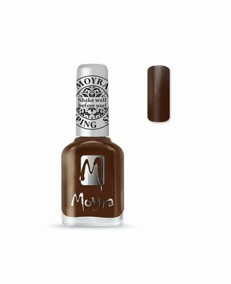 Moyra® Smalto per Stamping - SP13 DARK BROWN 12ml