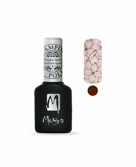 semipermanente per unghie stamping moyra bordeaux SGP07 merlot