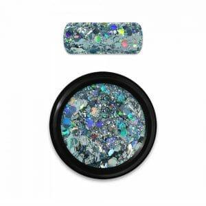 Holo Glitter Mix Light Blue Moyra