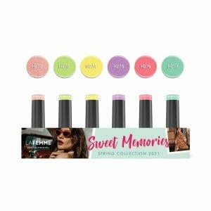 Collezione Primavera 2021 Smalti Semipermanenti La Femme Sweet Memories