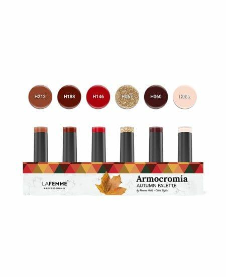 "Kit ""Armocromia"" Autumn Non Stop Color™ UV&LED by Romina - 6pz"