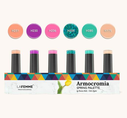 Armocromia La Femme - Smalto semipermanente Non Stop Color - spring-kit