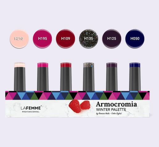 Armocromia La Femme - Smalto semipermanente Non Stop Color- winter-kit