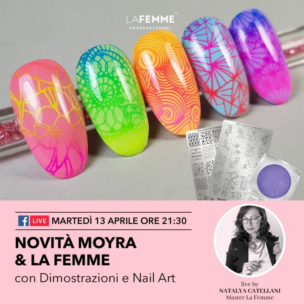 Nail Art e Novità Moyra e La Femme