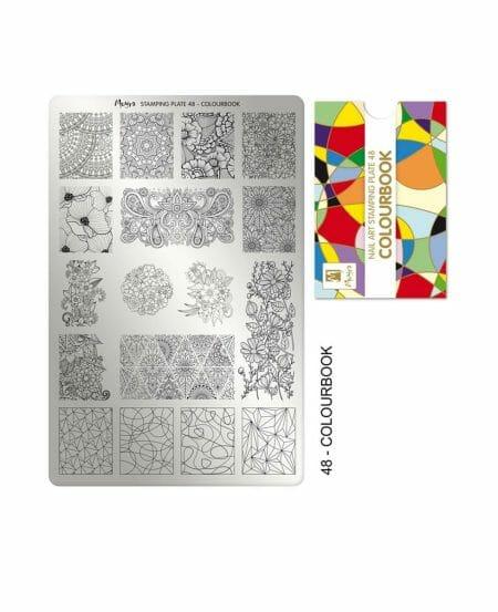 Piastra Stamping Moyra® 48 - Colourbook - 9,5cm x 14,5cm