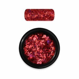 Holo Glitter Mix Mora 11 Red