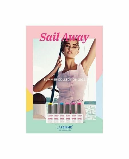 Poster Summer Collection 2021 La Femme Smalto Semipermanente