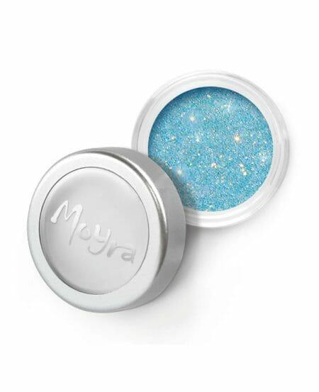Glitter Powder Moyra Numero 23 Colore Azzurro