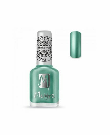 Moyra® Smalto per Stamping - SP27 CHROME GREEN 12ml