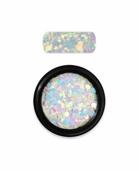Holo Glitter Mix N.12 - Chameleon White